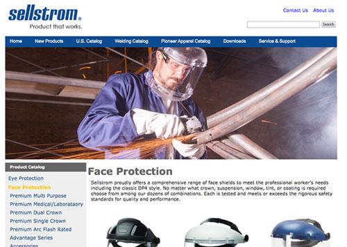 Sellstrom Website Design